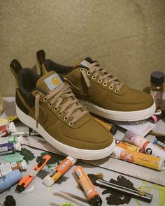 """watch e1fb7 c9c8f Bodhicouture inc. on Instagram  """"The CARHARTT WIP X NIKE AIR FORCE 1 LOW 07  PRM are scheduled for release DECEMBER 6 at 08 00hrs GMT."""