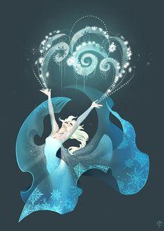 Queen Elsa - Disney's Frozen Fan Art
