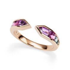Mixed Gemstone Ring