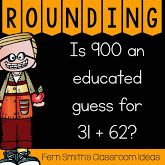 Rounding to Estimate the Sum Task Cards, Center Games and Color By Number Printables for your Go Math Rounding to Estimate the Sum at TeacherspayTeachers, TpT from Fern Smith at Third Grade Math, Fourth Grade, Second Grade, When School Starts, Teachers Be Like, Go Math, Primary Maths, Place Values, Math Resources