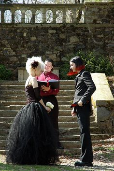 """Goth faerie"" faux-real 