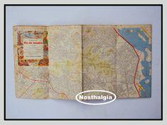 Mapa Esso - Rio De Janeiro - Anos 50/60 - F(407) - R$ 50,00 no MercadoLivre