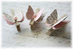 más y más manualidades: Usa pinzas de ropa como souvenirs o recuerdos de fiesta