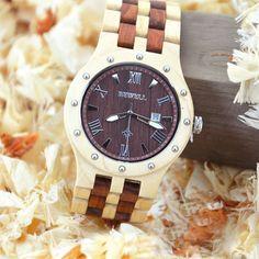 Trendy Top Brand Wooden Watches Big Sale http://timecreatives.com/bewell-wooden-luxury-mens-watch-auto-date/ //Price: $51.99 & FREE Shipping //     #watches #watchesformen #wristwatch #fashion