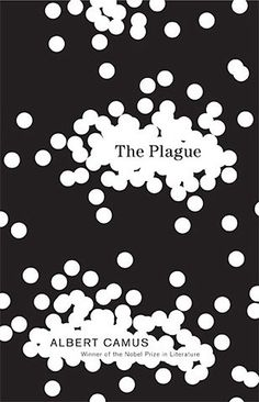 The Plague: author Albert Camus: cover design by Helen Yentus. I'd really like to read this some day. The Plague Book, John Gall, Book Cover Design, Book Design, Albert Camus Books, Great Books, My Books, Nobel Prize In Literature, Best Book Covers