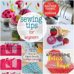 Sewing Beginners: Sewing Tips for Beginners is a collection of tips for new sewists. Learn some of the basics and take your sewing to the next level.- The Seasoned Homemaker