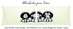 REGALA EMOCIONES, REGALA ALMOHADAS PARA SOÑAR...   DISEÑOS EXCLUSIVOS Y ORIGINALES   PAR ALMOHADAS: 19.900   MATERIALES:  FUNDA LONETA 100% ALGODON ESTAMPADO TRANSFER  INCLUYE ALMOHADA RELLENO SINTETICO.   ENVIOS A TODO CHILE CONTACTO Y PEDIDOS  WHATSAPP: +56997430454  MAIL: as.poleras.chile@...  Facebook: AS POLERAS / GD BY GMRD