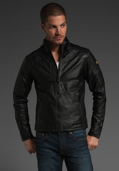 G-Star Tuscan Leather Jacket