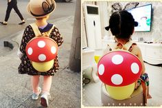 Mushroom shape backpack - SF025