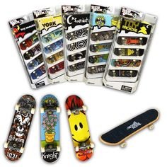 Tech Deck Fingerboards 4 Pack (Styles vary) ** Be sure to check out this awesome product. (This is an affiliate link) Tech Deck, Estilo High Tech, Board Skate, Finger Skateboard, Skateboard Parts, Skateboard Price, Tech Tattoo, Tech House Music, Tech Gifts For Men