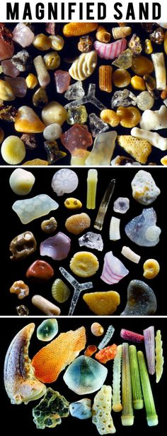 Magnified sand. wow
