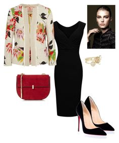 """""""Sin título #127"""" by pricsila-marquina-gonzalez on Polyvore featuring moda, Etro, Christian Louboutin, Chanel y Ted Baker"""