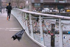 Love locks are expression of love and commitment. Also in Rotterdam, there are love locks on the bridges ...