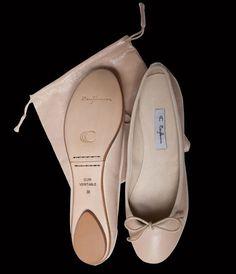 nude ballerina shoes