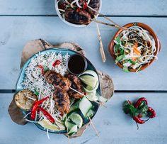 Asian fish-sticks met Noedels of Rijst — Nigelvdhorst.com