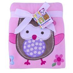 Walmart Swaddle Blankets Beauteous Garanimals 2Ply Valboa Blanket Girl  Baby Girl Blanket Design Ideas