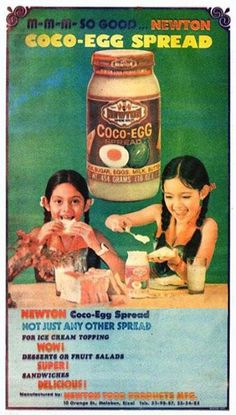 Maricel Soriano in Newton Coco-Egg Spread. Vintage Comics, Vintage Ads, Vintage Prints, Vintage Posters, Vintage Photos, 80s Ads, Old Advertisements, Retro Ads, Philippines Culture