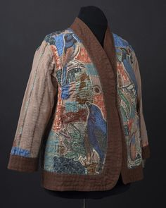 Boro for the Birds ~ Fit For Art Patterns Art Patterns, Pattern Art, Boro, Surface Design, Fitness, Fabric, Jackets, Coats, Fashion