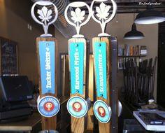 Urban Chestnut tap handles