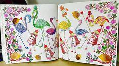 #大人のぬり絵 #大人の塗り絵 #colouringbook #amilyshen #aliceinwonderland