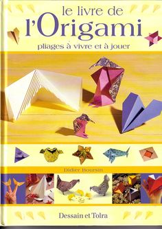 Origami Pliages - Dessain et Tolar - Isabelle Jo - Picasa Web Albums Origami Books, Origami Folding, Origami Paper, Japanese Paper Art, Web Gallery, Projects To Try, Paper Crafts, Embroidery, Albums
