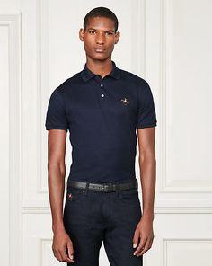 Purple Label - Custom-Fit Piqué Polo Shirt