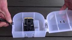 Musestation med en museklapfælde http://elverdan.dk/shop/product_info.php?products_id=382