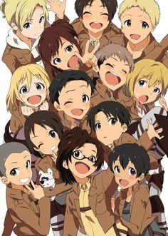 SNK Attack on Titan I just can't handle the level of cute in this...