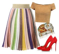"""""""..."""" by gabriela-costa-carneiro ❤ liked on Polyvore featuring Missoni, Alice + Olivia, Dsquared2 and Judith Leiber"""