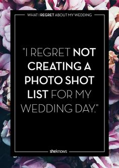 Not creating a photo list