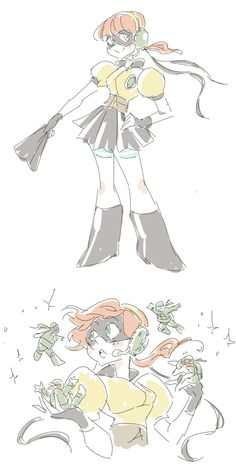 magical girl pretty april by miraongchua on deviantART