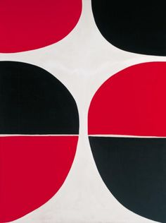 Sir Terry Frost 'June, Red and Black', 1965 © The estate of Sir Terry Frost