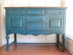 Jamie Lott - ona's Antique Sideboard gets a makeover.
