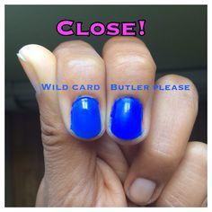 "Revlon Colorstay Gel Envy ""Wild Card"" vs. Essie ""Butler Please"". The Gel Envy line doesn't need a base coat!"