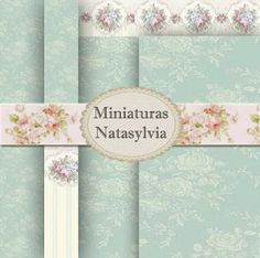 Miniaturas Natasylvia: NEW NEW Wall Papers