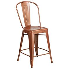 $42 copper counter chair
