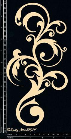 Ideas Wall Stencil Patterns Swirls Design Studios For 2019 Stencils, Stencil Art, Wall Stencil Patterns, Stencil Designs, Scroll Pattern, Swirl Design, Glass Design, Swirls, Design Elements