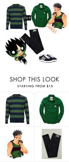"""Quick cosplay: Butch (RRB)"" by jlafaye on Polyvore featuring Matix, Superdry, Dr. Denim, adidas Originals, mens, men, men's wear, mens wear, male and mens clothing"
