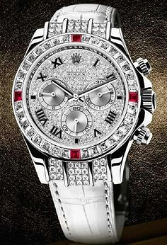 ♛ Rolex 18k white gold / diamonds ♛