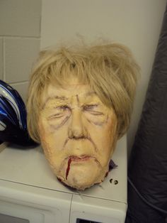 My death head for Goodbye Girl. A full rubber mask . what a process Have Fun, Death