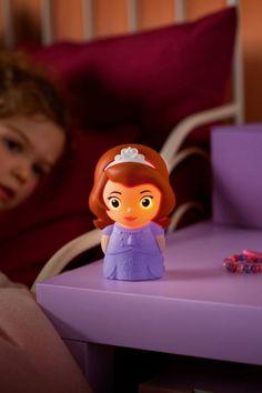 Disney's Princess Sofia, light by Philips, warm white. Item No. Night Light, Light Up, Princess Sofia, Disney Princess, Led, Lamp Light, Little Ones, Dreaming Of You, Children's Lighting
