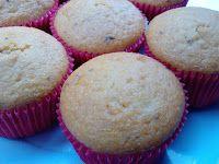 Cantinho Vegetariano: Cupcake de Fubá e Laranja (vegana)