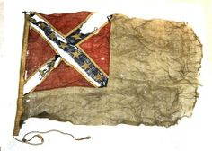 A Confederate naval flag taken from a Confederate gunboat by a Union army lieutenant after the fall of Richmond in April Confederate States Of America, Confederate Flag, Southern Heritage, Southern Pride, American Civil War, American History, Naval Flags, Flags Of Our Fathers, Civil War Flags