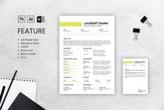 CV CV par uicreativenet sur Envato Elements Microsoft Word, Photoshop, Cv Design, Pixel, Resume, Education, Free, Professional Resume, Job Resume Template