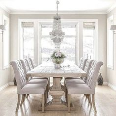 Attractive 11 Spring Decorating Trends To Look Out. Gray Dining RoomsDinning ...