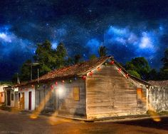 Rustic Beauty of Costa Rica At Night