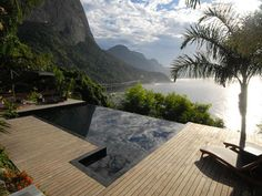 """Casarani"" in Rio de Janeiro, Brazil, a 4-bedroom villa with views of the ocean, mountains, and Rio"