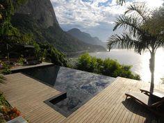 """""""Casarani"""" in Rio de Janeiro, Brazil, a 4-bedroom villa with views of the ocean, mountains, and Rio"""