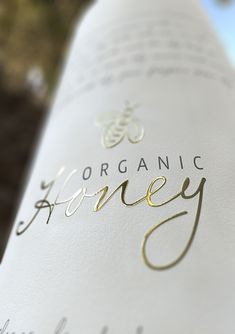 Organic Honey packaging concept on Behance