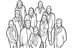 21 ejemplos de poses para tomar fotos en grupo - arturogoga